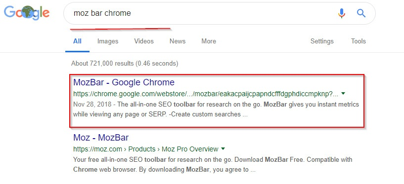 moz bar chrome