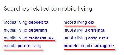 mobila searches